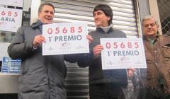 Afortunados con el primer premio de Lotería de 'El Niño' 2018