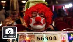 Las mejores imágenes de la Lotería de Navidad 2018.