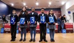 El 57342, primer premio de la Lotería del Niño 2020.